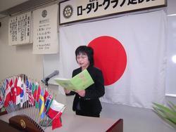 本多雅子さんによる朗読