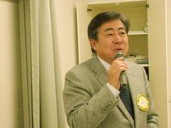 高須光 社会奉仕委員会委員長の受賞者発表